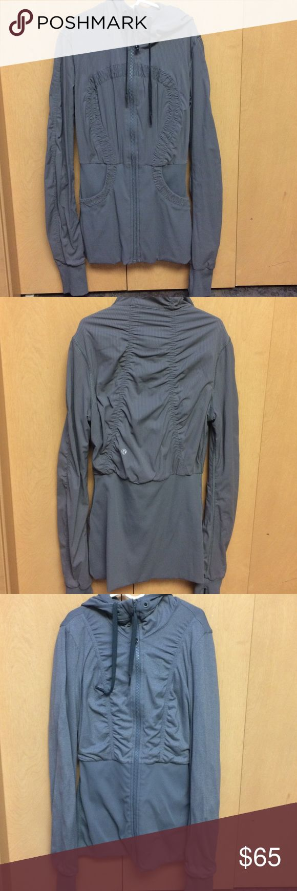 Lululemon Full Zip Hoodie Reversible! Light weight. Tight fitting. lululemon athletica Jackets & Coats