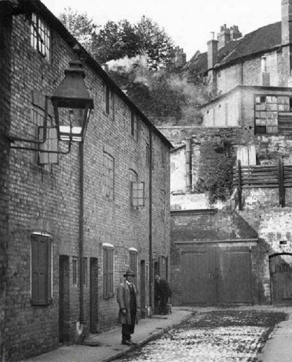 Valentine Place, Broad Marsh, Nottingham, c1930.