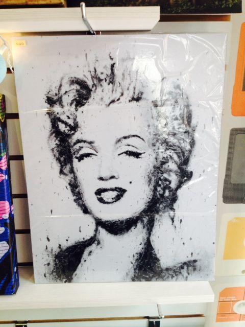 Afiche Marilyn Monroe