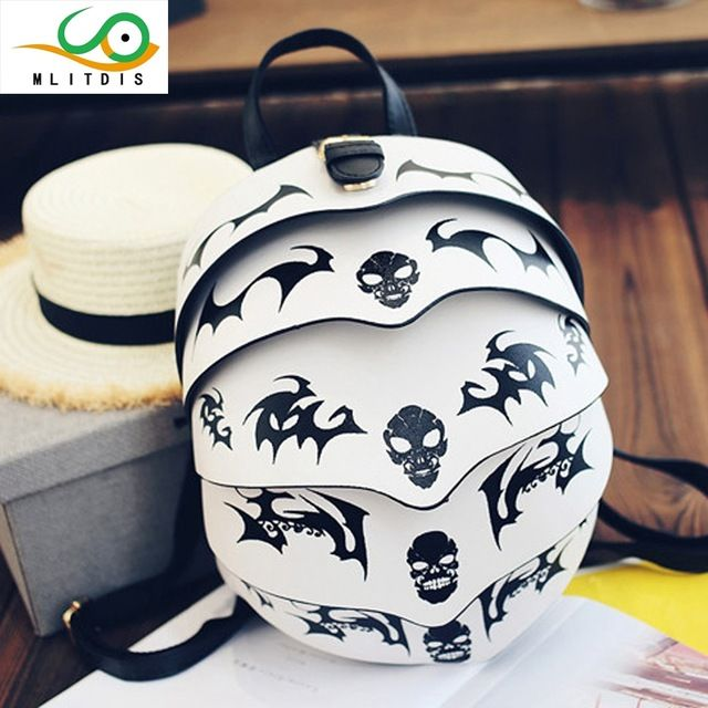 Check it on our site MLITDIS 2017 new winter Korean pangolin skull beetle trend of personality patterns lovers Backpack just only $33.25 with free shipping worldwide  #womanbackpacks Plese click on picture to see our special price for you