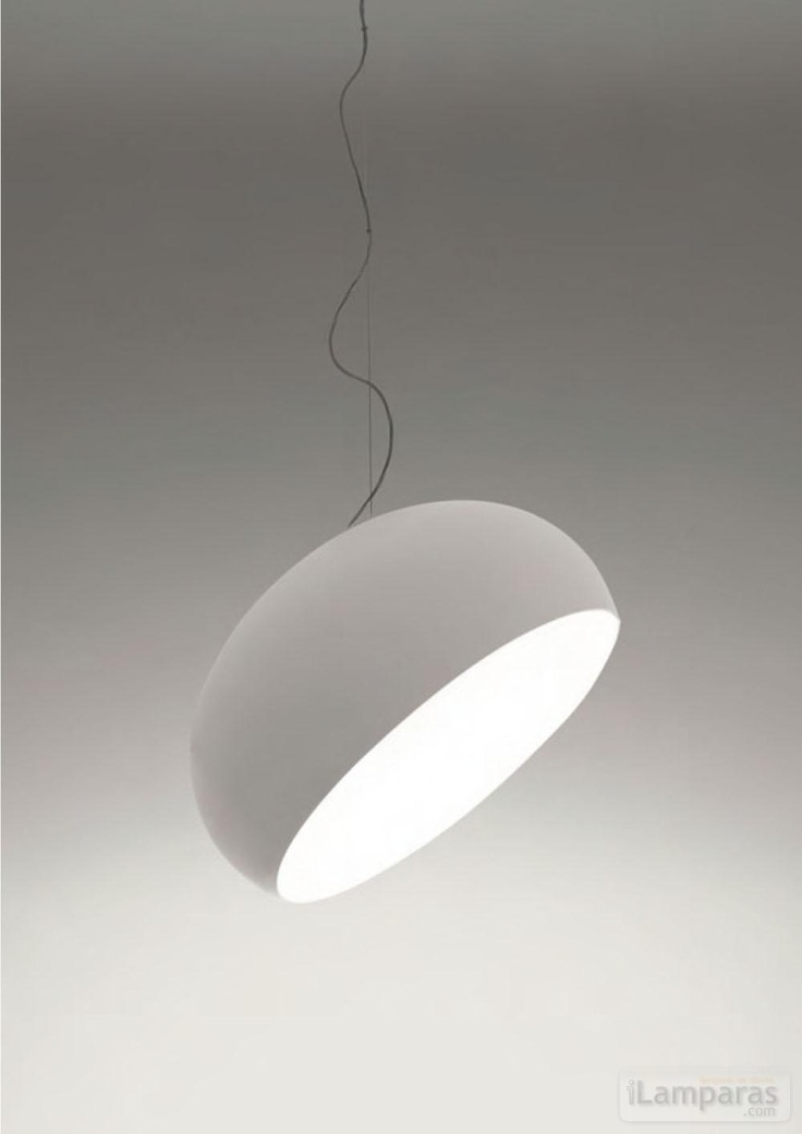 suspension light in pure white | lighting . Beleuchtung . luminaires | Design: Naoto Fukasawa | Artemide |