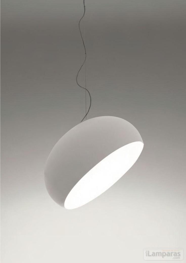 suspension light in pure white | lighting . Beleuchtung . luminaires | Design: Naoto Fukasawa | Artemide |