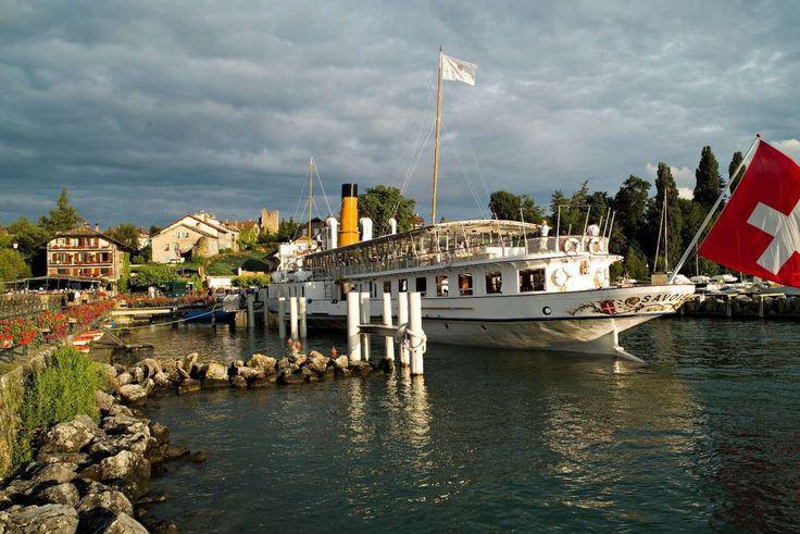 Tourisme Lac Léman   Hôtel du Port Yvoire   Haute-Savoie