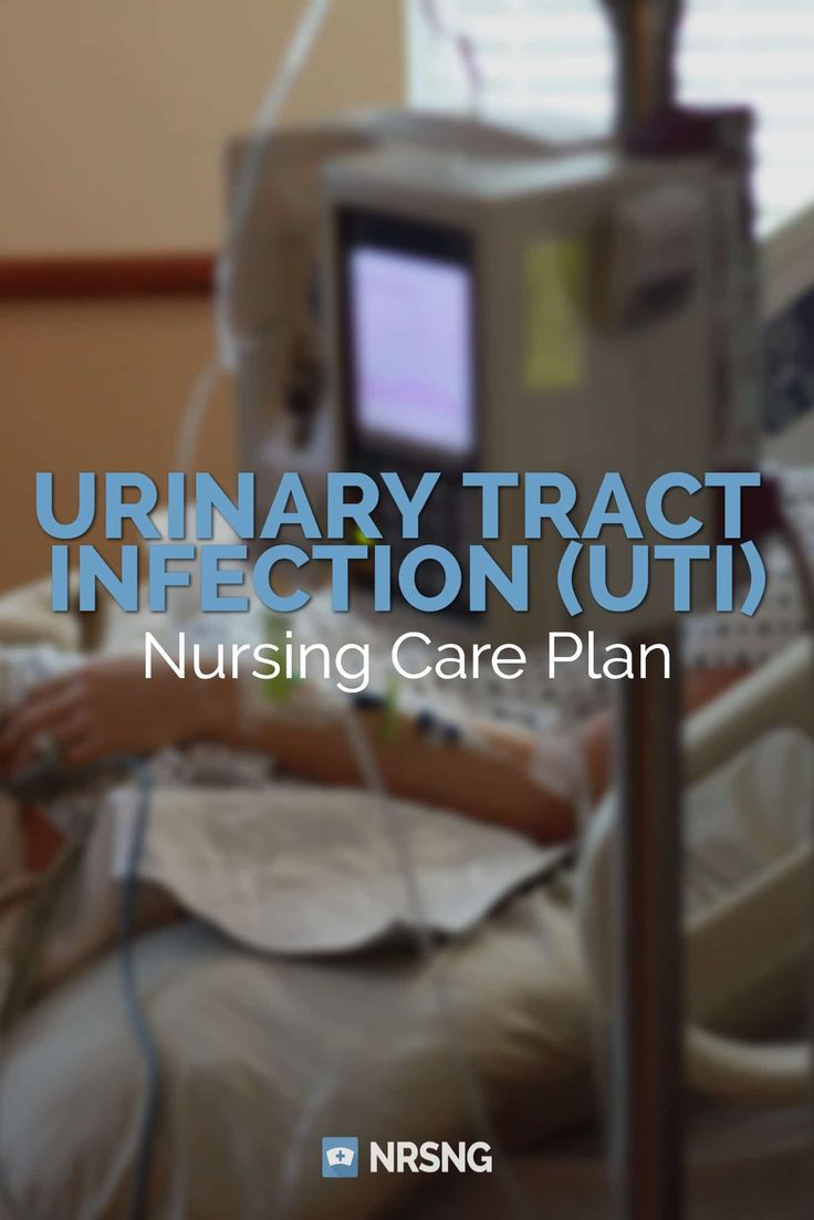 Nursing Care Plan for Urinary Tract Infection (UTI)