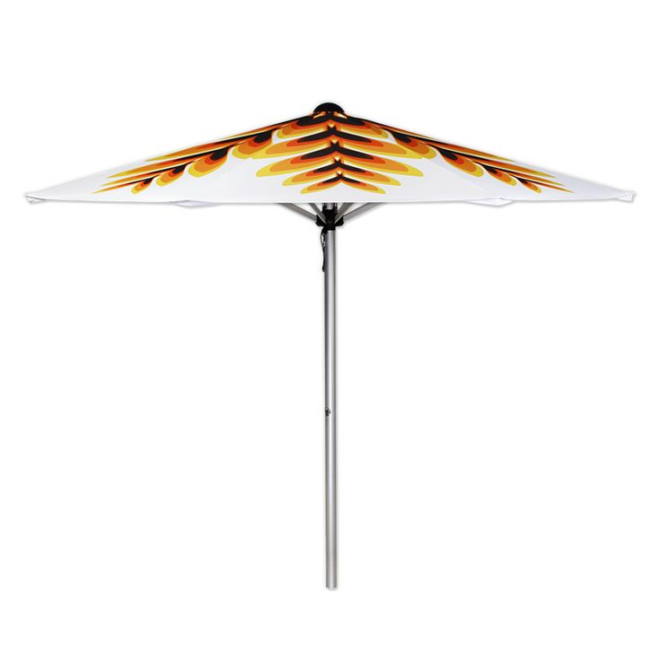 | FIRE FLAME | Garden umbrella by Mills Parasols www.mills-parasols.com  #fire #flame #flower #blossom #garden #gardendecor #decor #sunumbrella #gardenumbrella #parasol