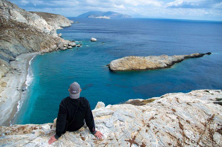 Katergo beach. Folegandros island, Greece - selected by  www.oiamansion.com