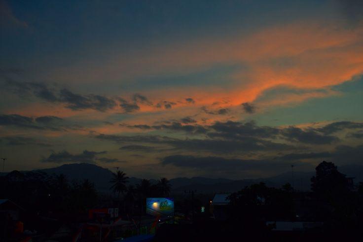 Langit melukis #nikon #alam #home