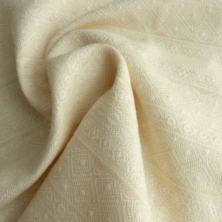 Didymos Prima (Indio) Cream Linen.  Fabric: 75% Organic Cotton, 25% Organic Linen  Surface weight: 200 g/m²  Age of child: From newborns to toddlers