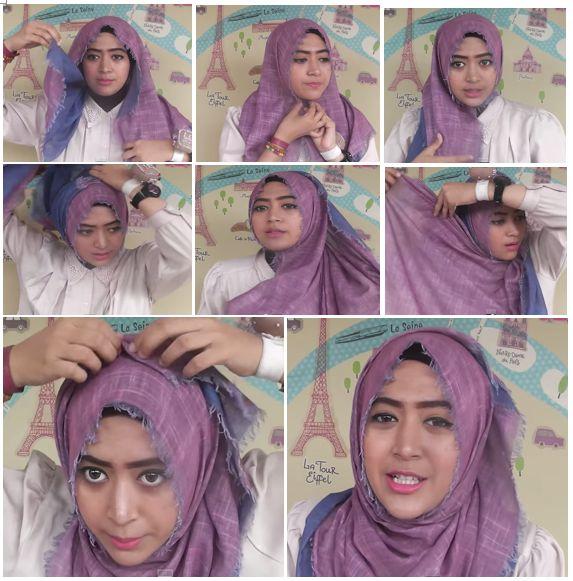 2. Tutorial Hijab Modern 2014