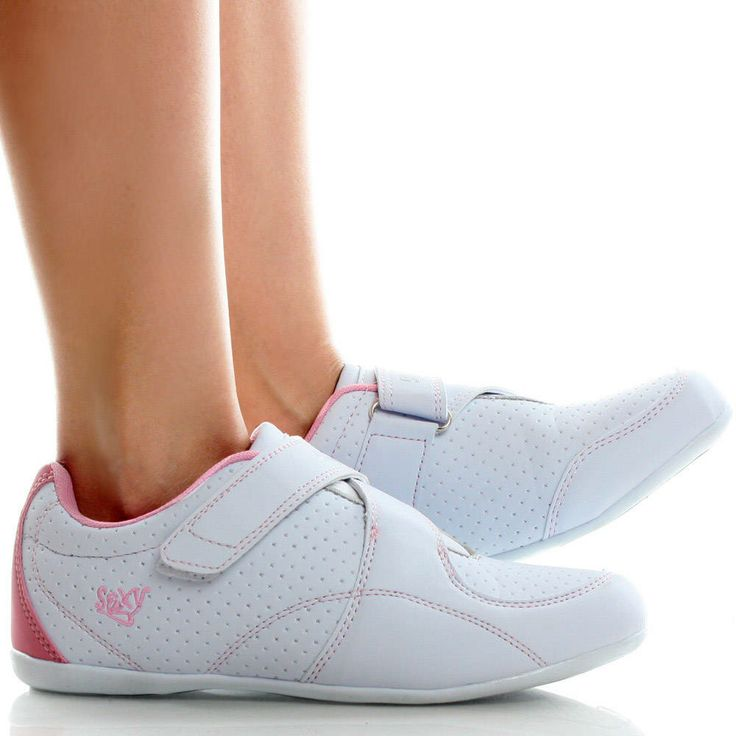 s white velcro sneakers white pink velcro trainers