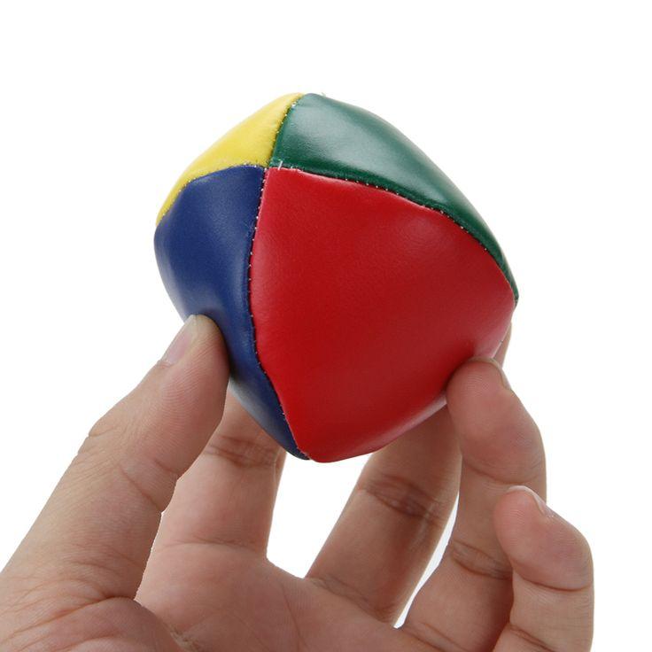 1 Pcs 5 cm Tahan Lama Juggling Bola Anak Olahraga Mainan Klasik Bean Bag Menyulap Sihir Sirkus Anak Pemula Interaktif mainan