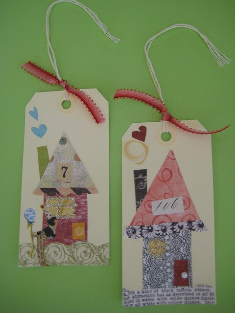 Cute tags for new home gift