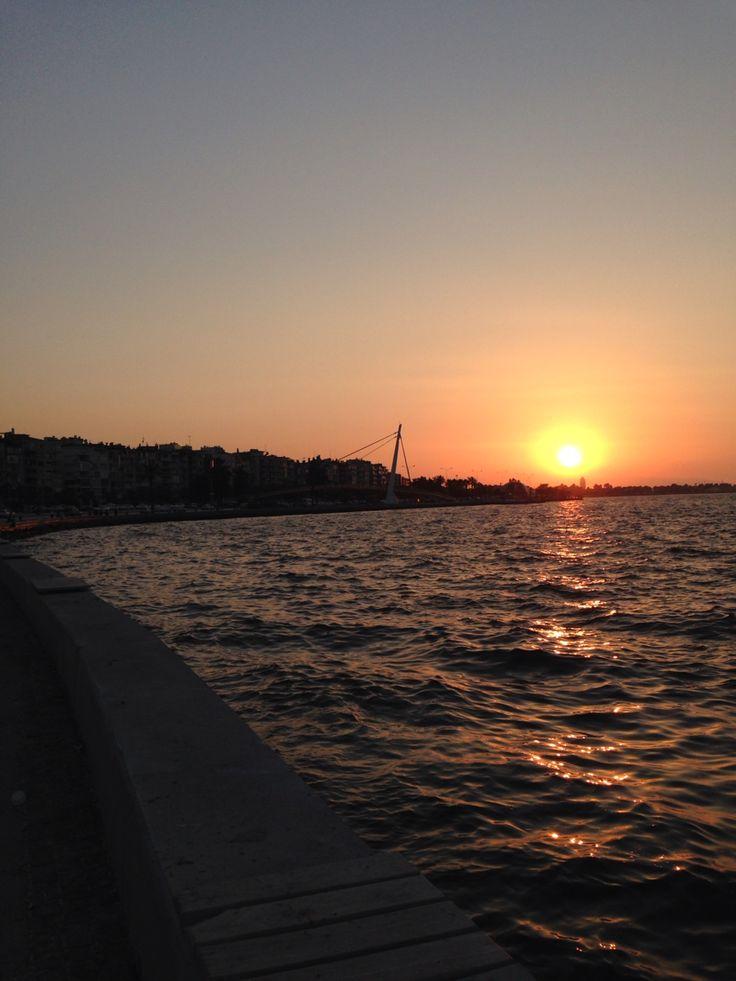 İzmir Güzelyalı sahill