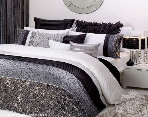77 Best Ideas For My Silver Black And White Bedroom