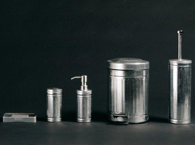 accessoire salle de bain inox. Black Bedroom Furniture Sets. Home Design Ideas