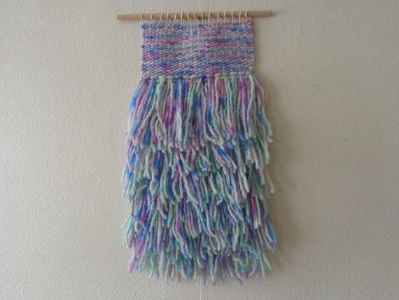 Girl Wall hanging by CrisalidaTextile on Etsy