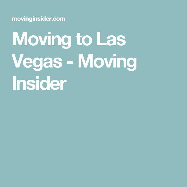 Moving to Las Vegas - Moving Insider
