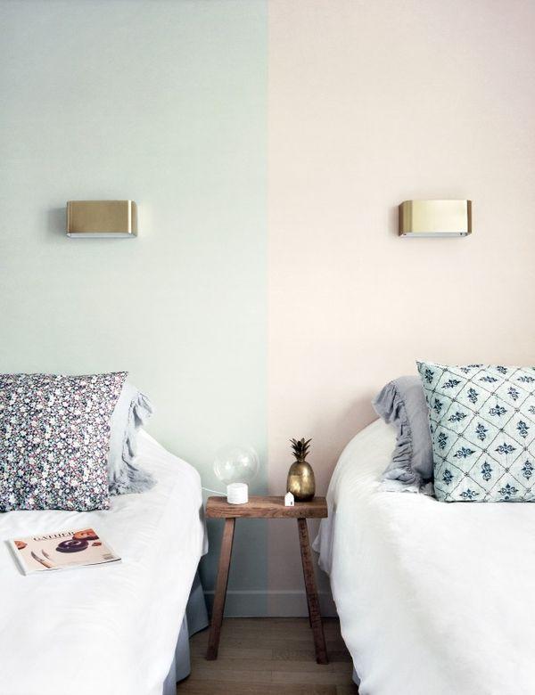 Guest room goals... 2 cozy twin beds