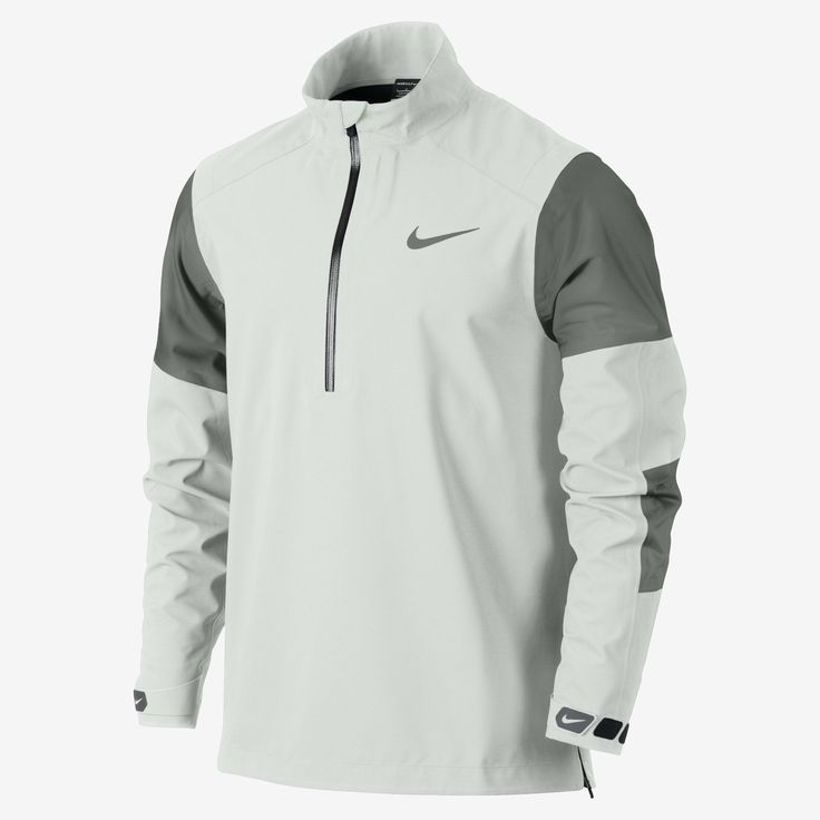 Nike Hyperadapt Storm-FIT Half-Zip Mens Golf Jacket | Raddest Men's Fashion Looks On The Internet: http://www.raddestlooks.org