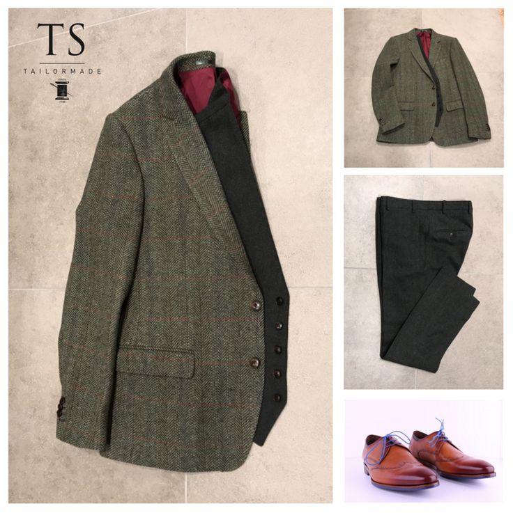 Tweed ouderwets? niet met TS Tailormade.
