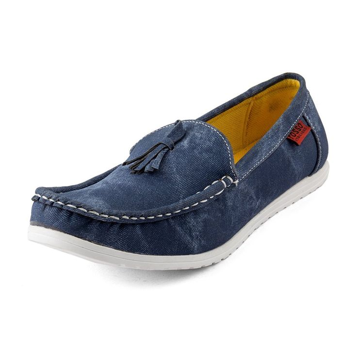 #Rosso #Italiano #Men's #Blue #casual #loafer #Shoe
