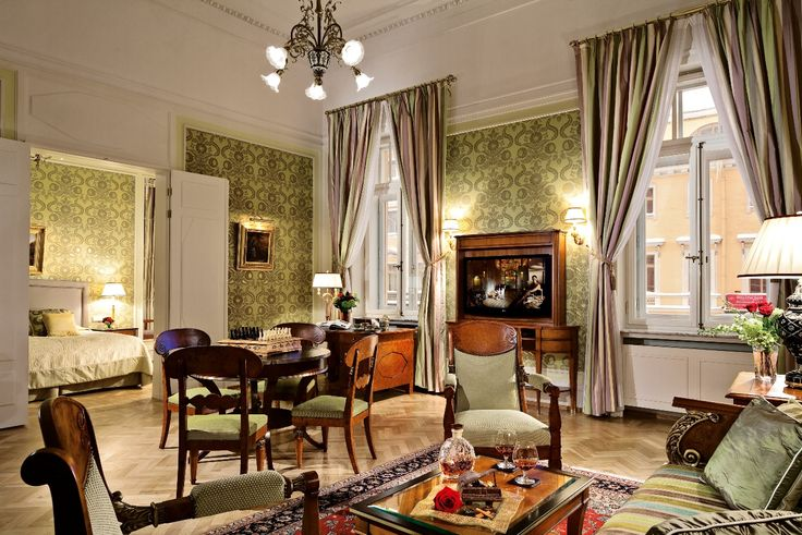 The Stravinsky Suite. Grand Hotel Europe.