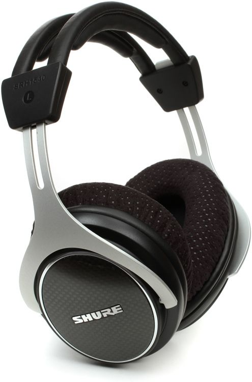 Closed-back, Circumaural Headphones with Individually Matched Neodymium Drivers, Adjustable Headband, and Detachable Cable