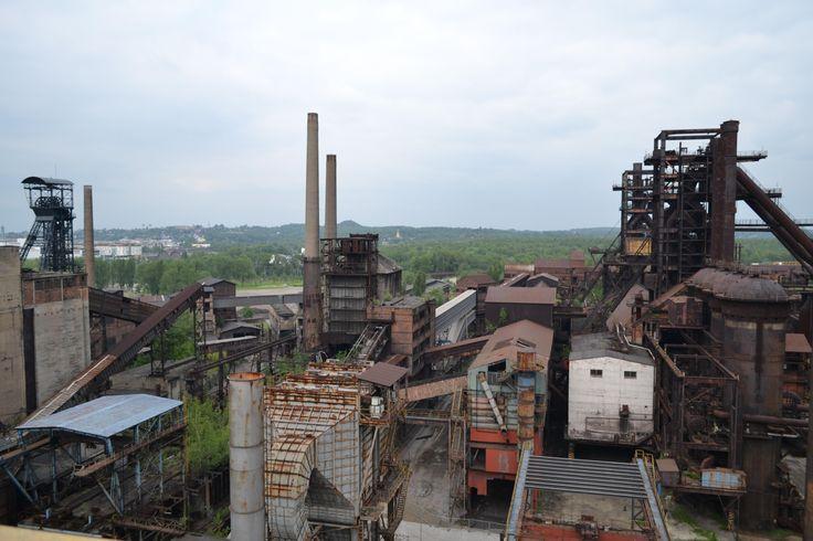 Dolni Vitkovice (old steel factory) - Ostrava, Czech Republic