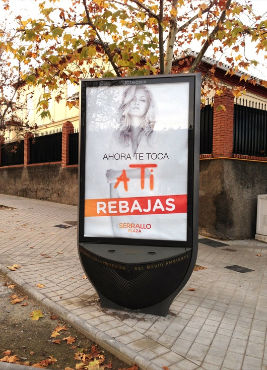 Campaña publicidad 'Rebajas Serrallo Plaza'