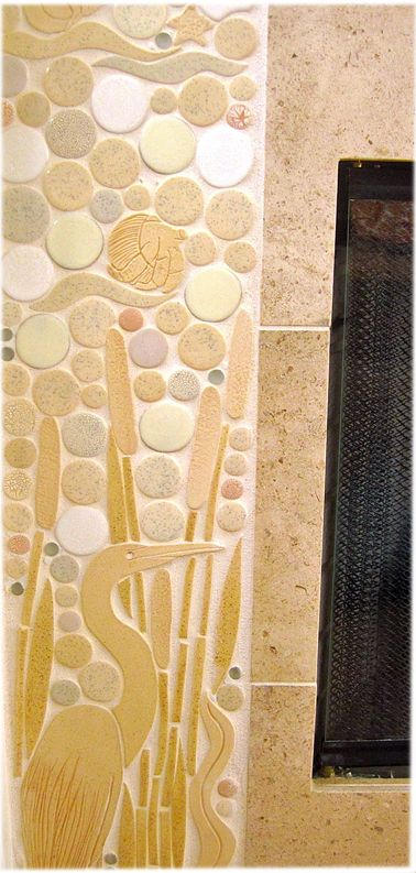 28 best Decorative retaining wall images on Pinterest   Mosaic ideas ...