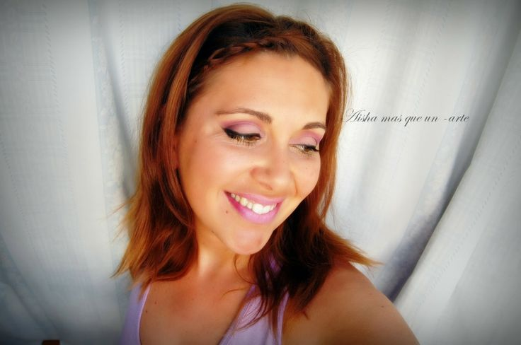 Aisha mas que un -arte: Maquillaje malva
