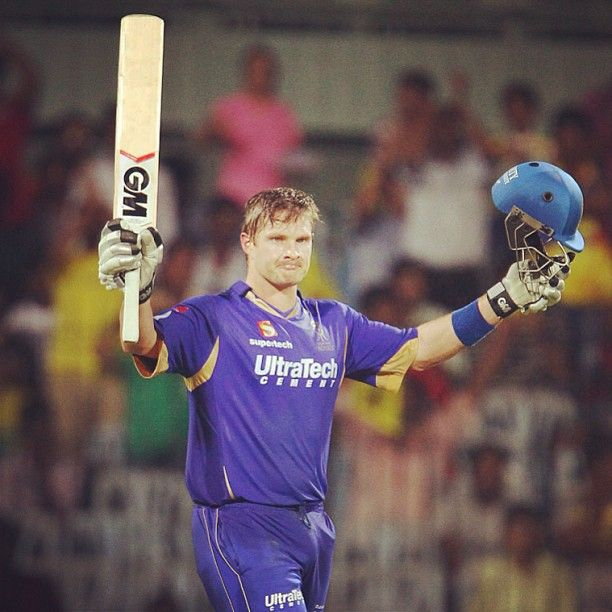 Shane Watson's 101 (61) was the first century posted in #IPL06. Incredible batting #Watto!