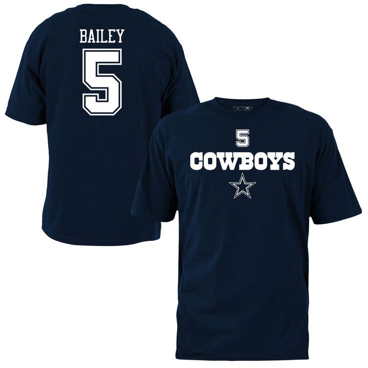 Dan Bailey Dallas Cowboys Name & Number T-Shirt – Navy Blue