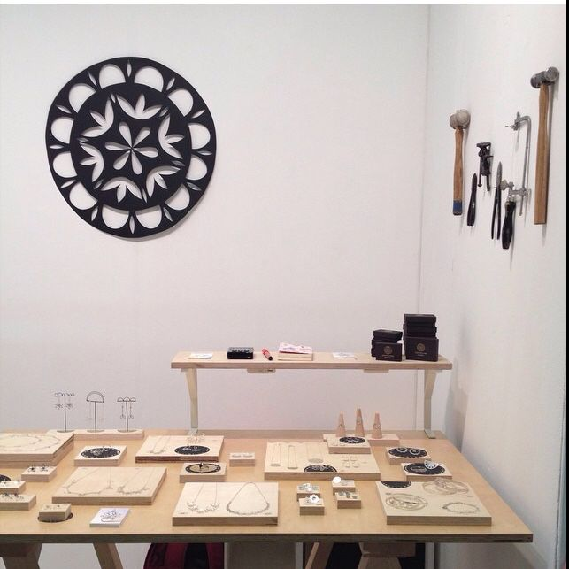 Maike Browning. Great Northern Contemporary Craft Fair 2014