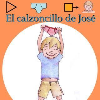 """""""El calzoncillo de José"""" cuento con pictogramas para dejar el pañal."""