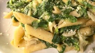 Whole Grain Penne with White Beans and Spinach Recipe | The Chew - ABC.com