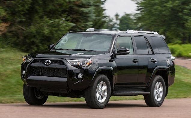 2016 Toyota 4Runner Limited Black