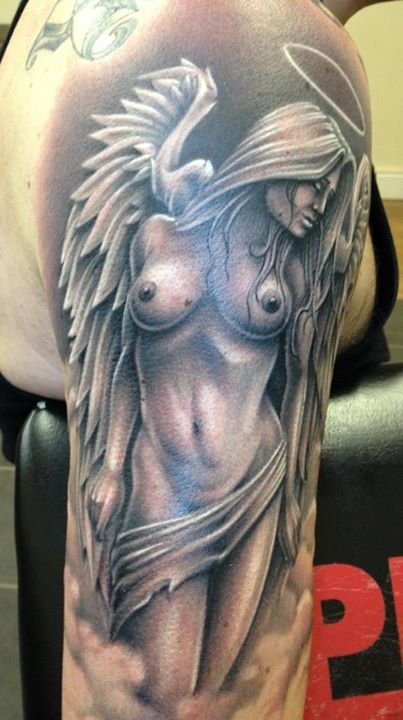 Angel Tattoo by Meehow