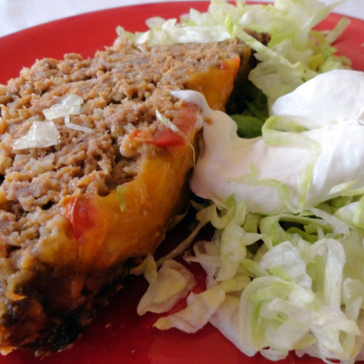 Taco Meatloaf Recipe   Just A Pinch Recipes