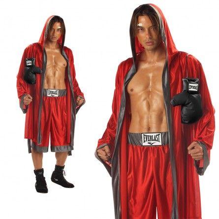 Mens Everlast Boxing Sports Costume