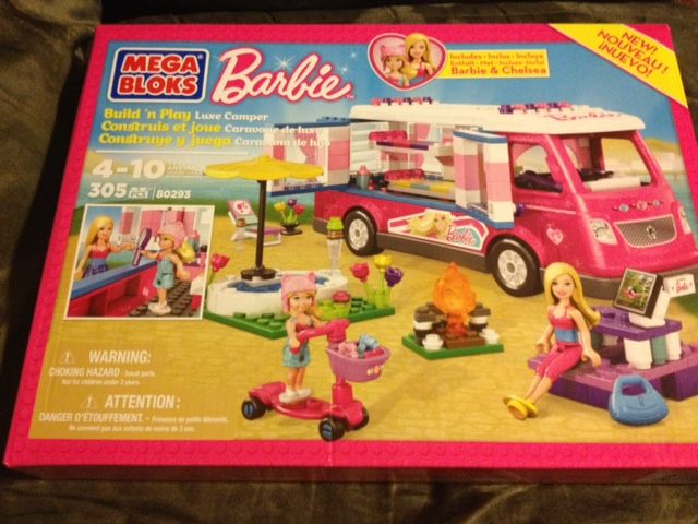 Mega Bloks Barbie Build n Play Luxe Camper  @Mega Bloks #Barbie