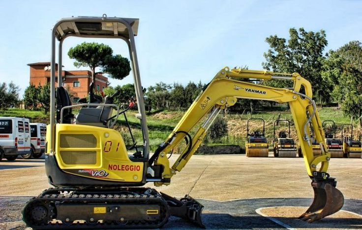 Check out the Vio 16 Yanmar Excavator, a new 1.5 tonne excavator with standard reach, 0 working hours, zero tail swing, boom, blade and 3 buckets etc.