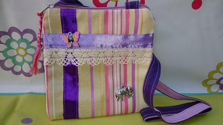 Candy Strip Spectacular Bag from Mikisantorini by DaWanda.com