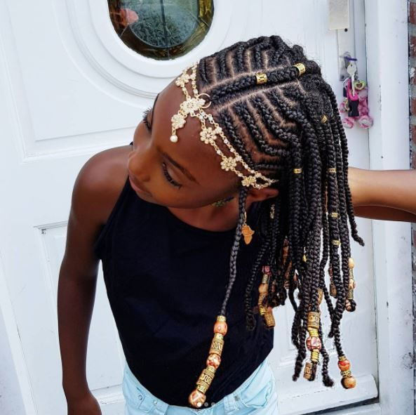 Fulani inspired braid styles have been killing the game this Summer and while the adults have been enjoying them, I have been loving the little girls who have been rocking the styles as well. I think these braids are perfect for kids because not only do they love beads and charms but they are a …