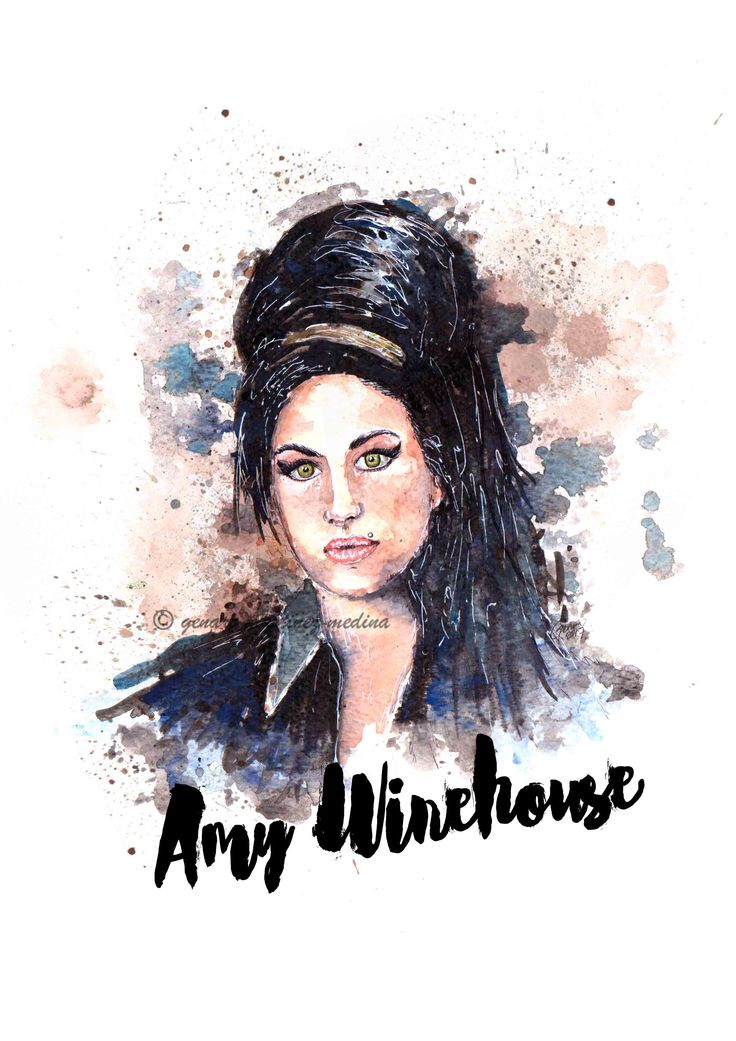 Amy Winehouse by Genaro Martinez Medina
