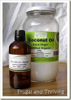 Tea tree oil and coconut oil - natural cold sore remedies