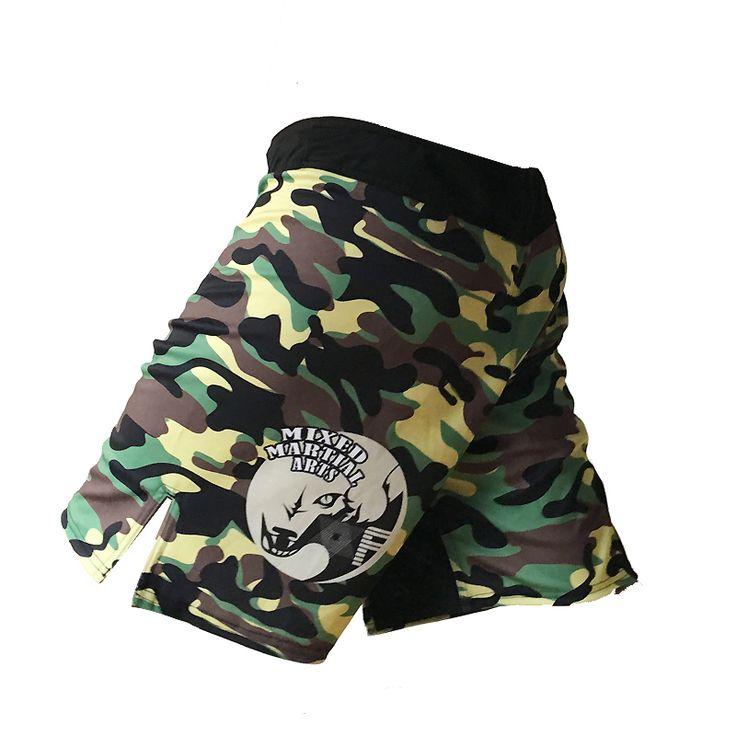 Calças calções de boxe mma hayabusa muay thai curto bad boy mma muay thai troncos camuflagem shorts kickboxing luta mma desgaste calças