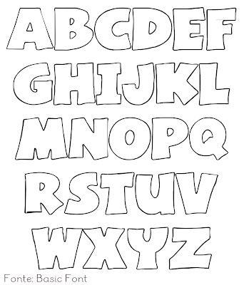 Hey Girl!: Moulds.  para hacer letras en fieltro
