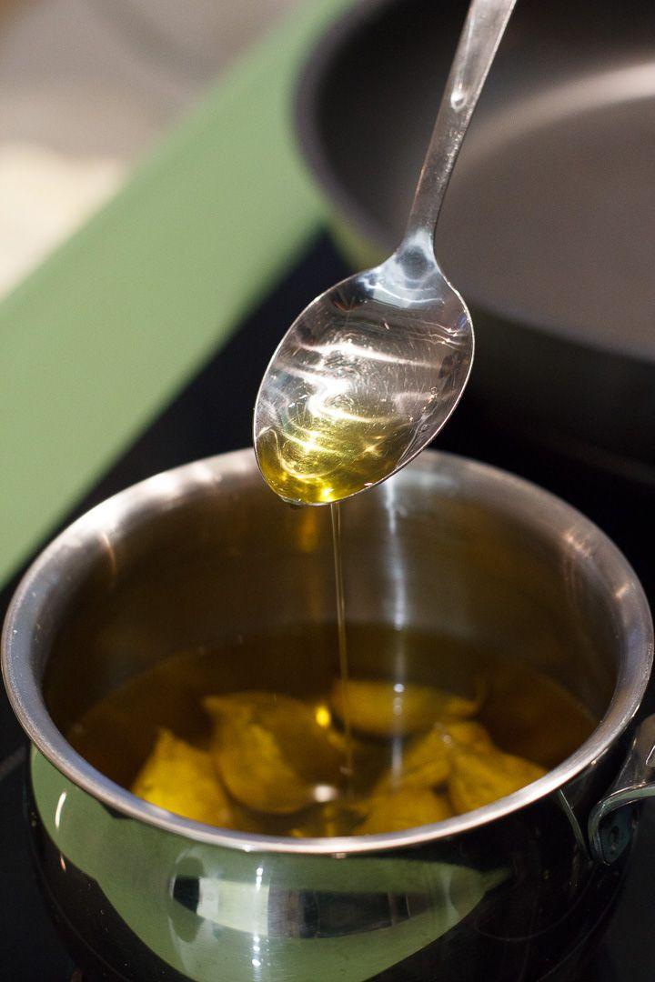 l'olio aromatico di Maria Cicorella