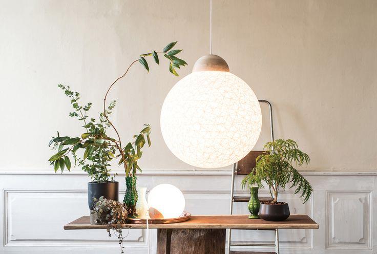 YarnBomb by @Tine Mouritsen produced for #vasanthidk  Photo: @Martin Kaufmann   Styling: @Sanne Korsholm #danishdesign #designlamps #danishbrand #igerscopenhagen #interioer #interioerdesign #styling #craftmanship
